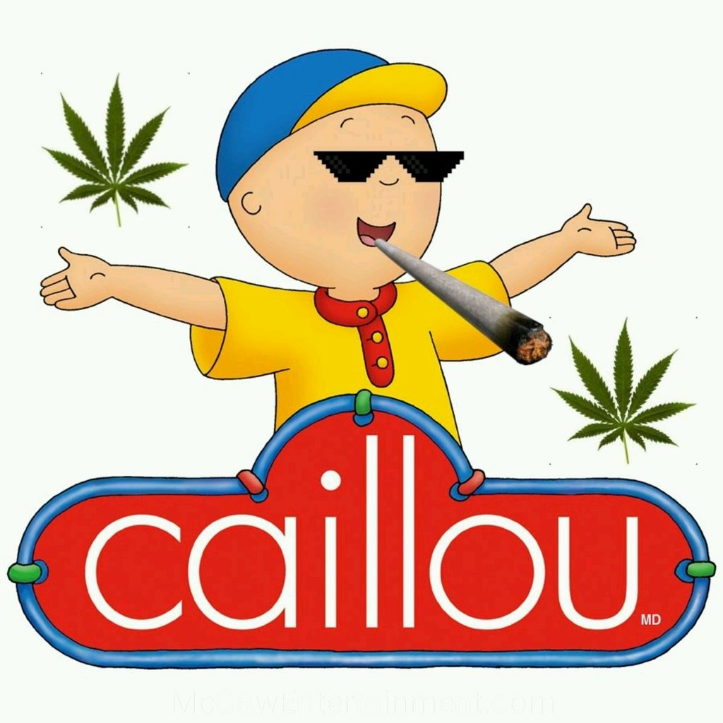 Caillou 4/20 | Funny Memes | Funny memes, Caillou, Childhood