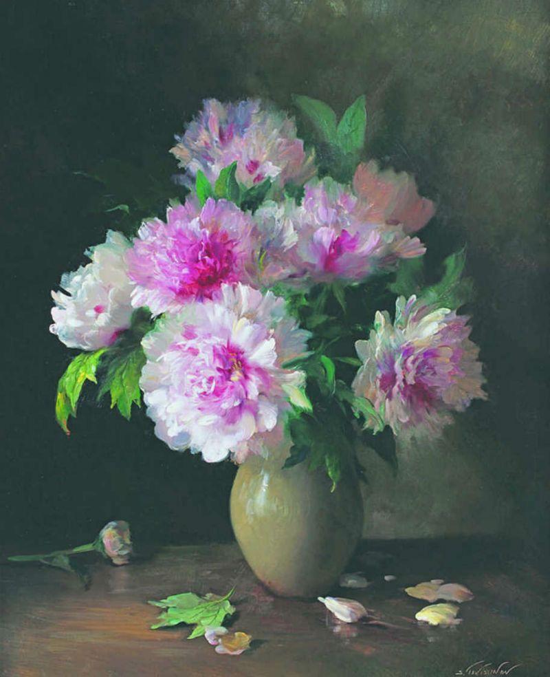 Serguei Toutounov Flowers Paintings Pinterest Art Oil