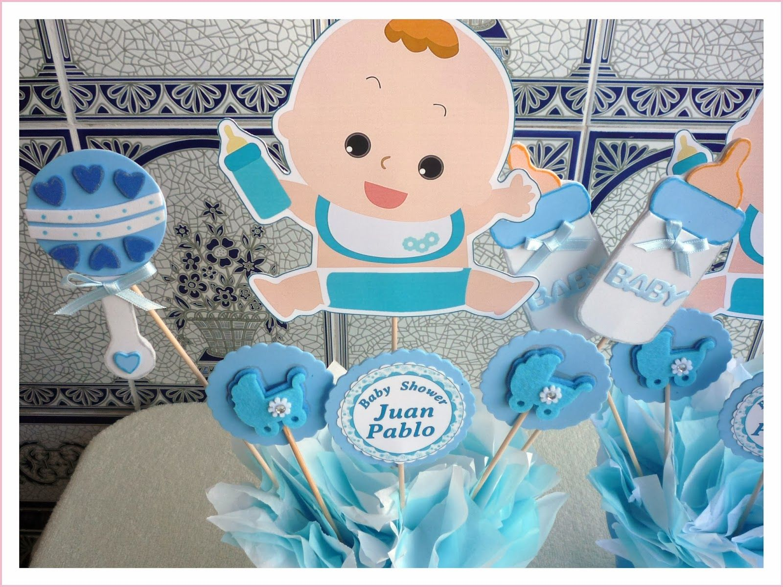 Baby Nina Fiestas: Baby Shower Para Juan Pablo