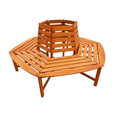 Ascot Round Tree Bench | ACHICA | Garden Rooms Indoor/Outdoor ...