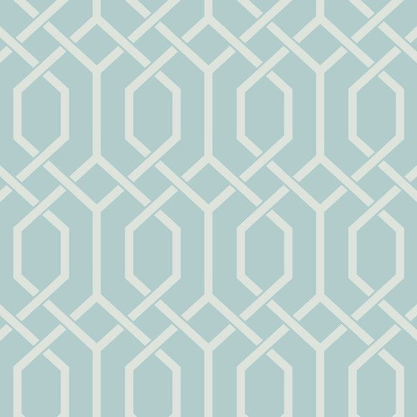 Today Interiors Design 1 Wallpaper - LA30312 ($120) ❤ liked on Polyvore featuring home, home decor, wallpaper, turquoise, contemporary geometric wallpaper, contemporary home decor, turquoise wallpaper, pattern wallpaper and turquoise home decor