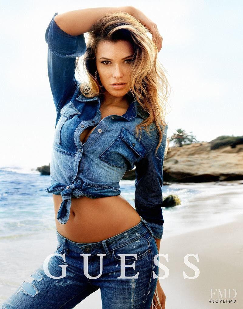 78390241fab Guess Denim advertisement for Spring Summer 2014