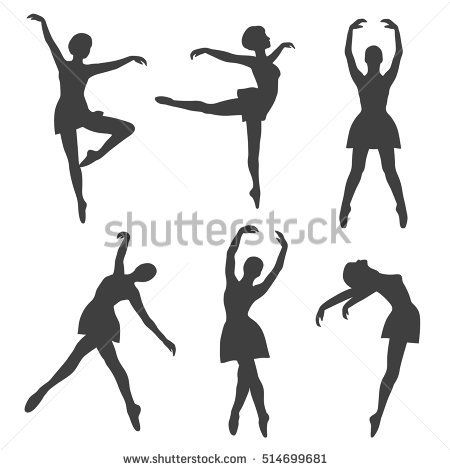 b2189b2ce780 Poses of ballet  hand drawn icons set. Big collection of sketch ...