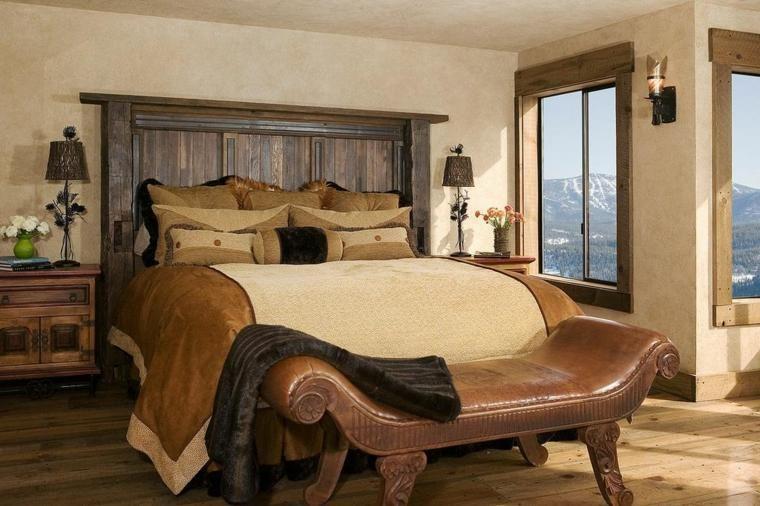 Rustikale Schlafzimmer mit echter Schönheit Haus - Deko Für Schlafzimmer