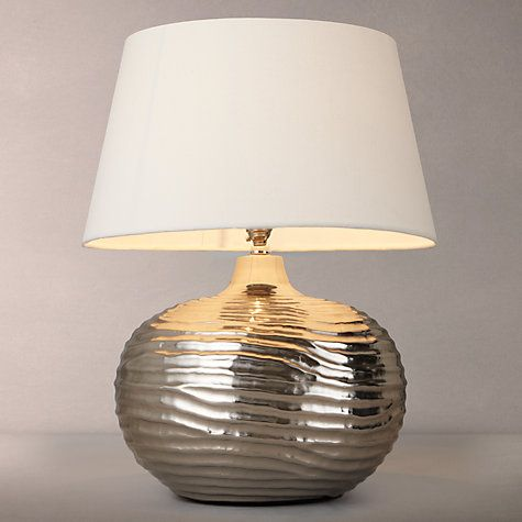 Buy john lewis ise waves metal table lamp online at johnlewis buy john lewis ise waves metal table lamp online at johnlewis aloadofball Gallery