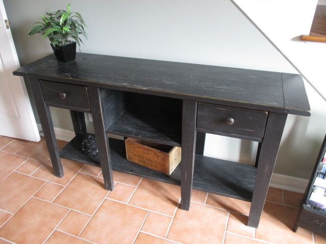 DISTRESSED SOFA TABLE Estate sale from incredible Cumberland home – 1580 Stackhouse Court, Cumberland ON. Sale will take place Saturday, May 2nd 2015, from 8am to 4pm. The closest major intersection is Highway 174 & Old Montreal Road. Visit www.sellmystuffcanada.com to view photos of all available items and full sale description!