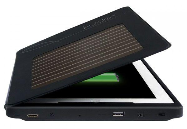 KudoCase: o case que carrega seu iPad com energia solar | Blog iPad - Tudo sobre iPAD