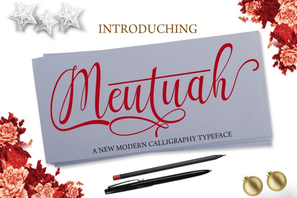 Download Meutuah (Font) by StudioRz