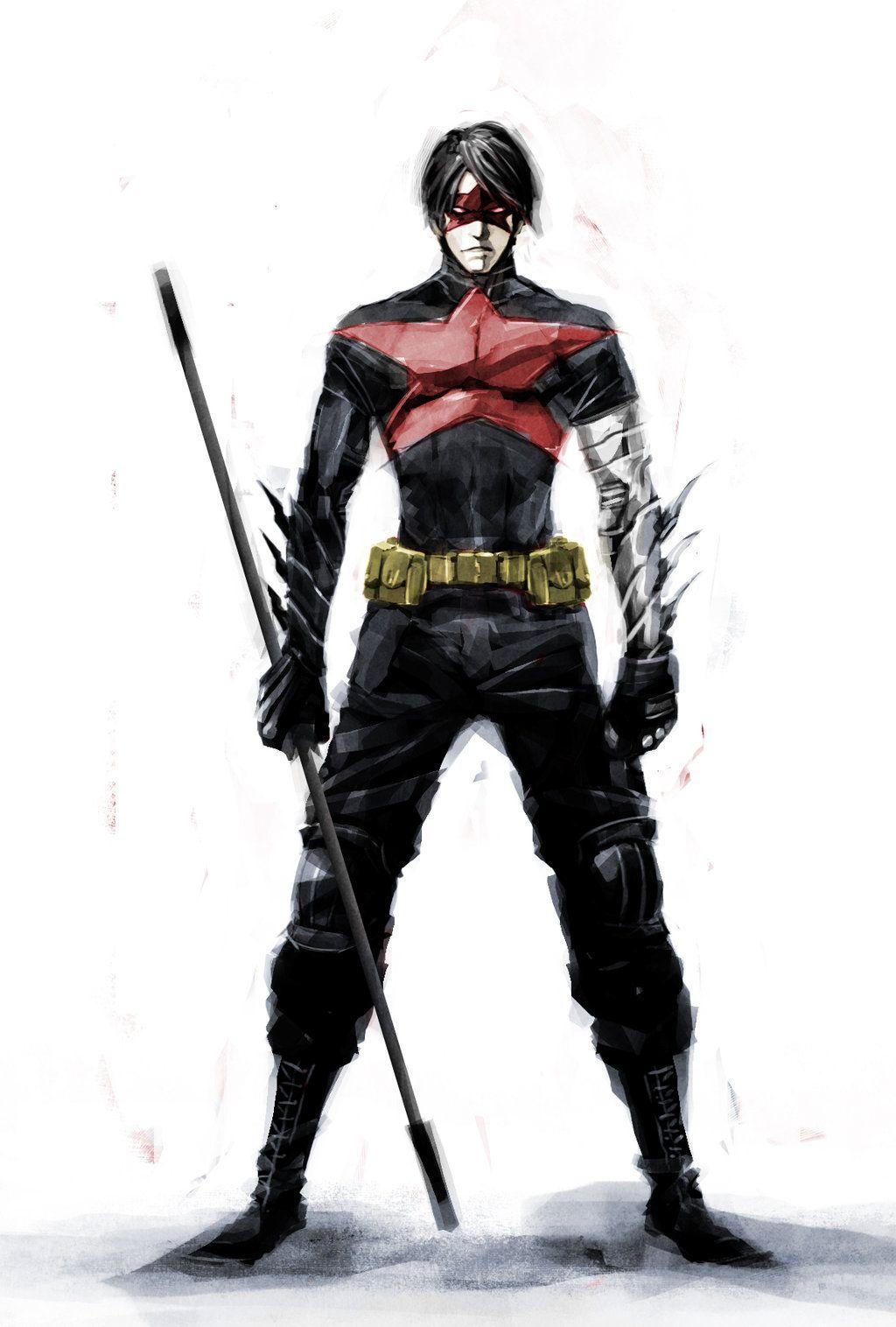 Winter Soldier Vs Red Hood