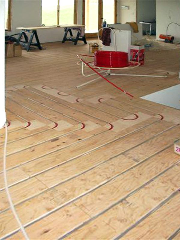 thermofin u radiant floor aluminum heat transfer plates are used in hydronic radiant heating free - Radiant Floor Heat