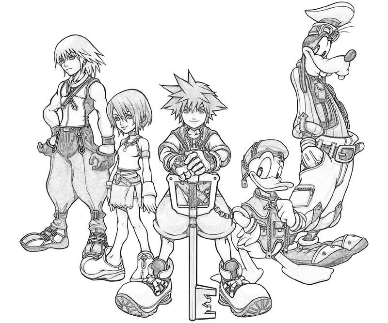 Kingdom Hearts Coloring Pages Home Kingdom Hearts Kingdom