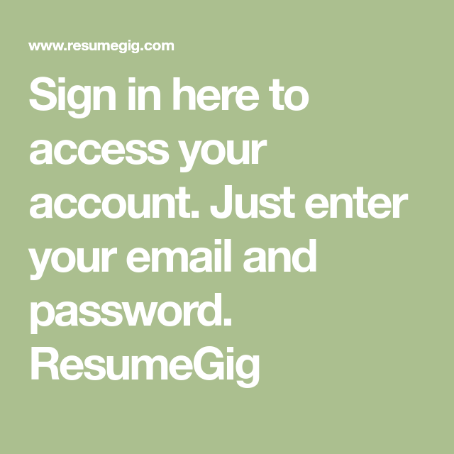 sign in here to access your account  just enter your email