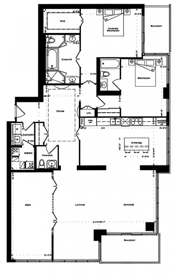 Rossetti One Bedford Road Toronto Floor Plans Bedford How To Plan