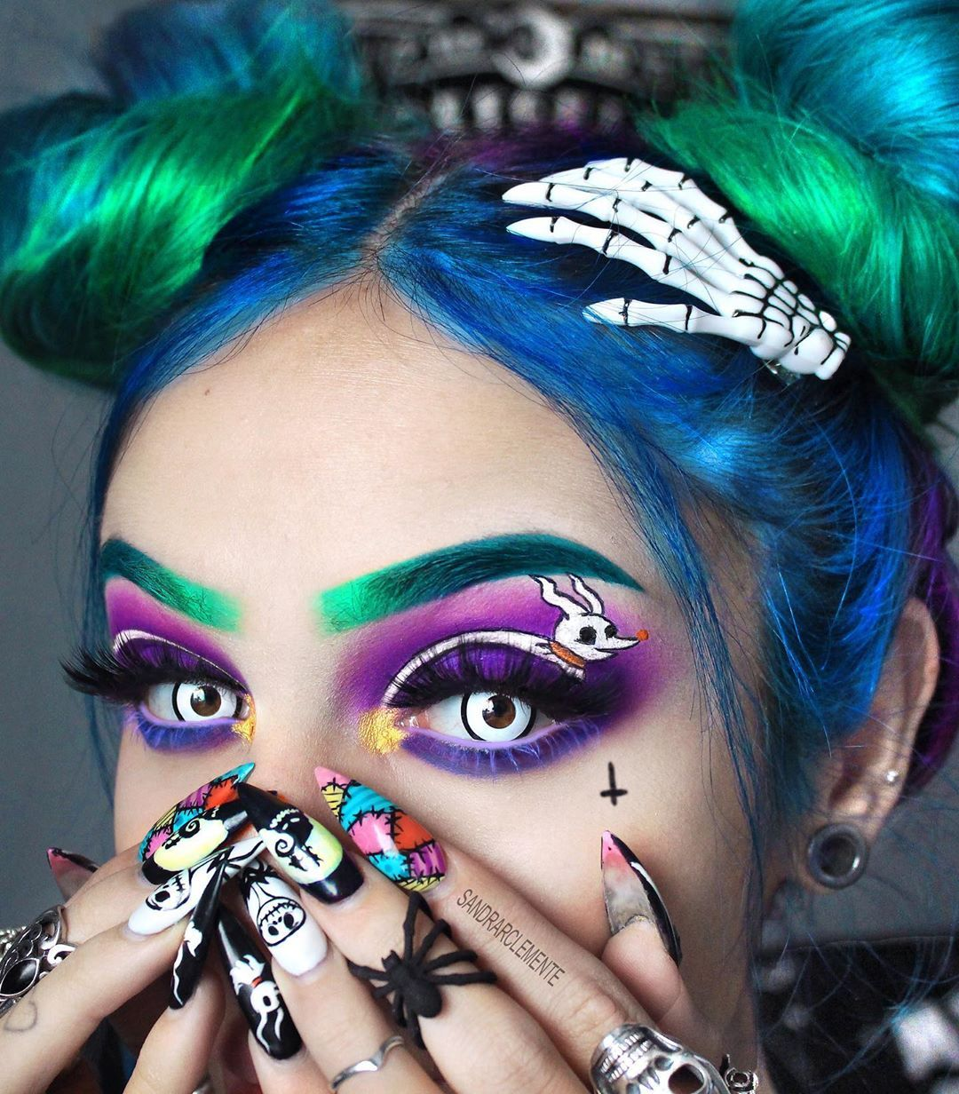 Nightmare Before Christmas Sandrarclemente makeup and