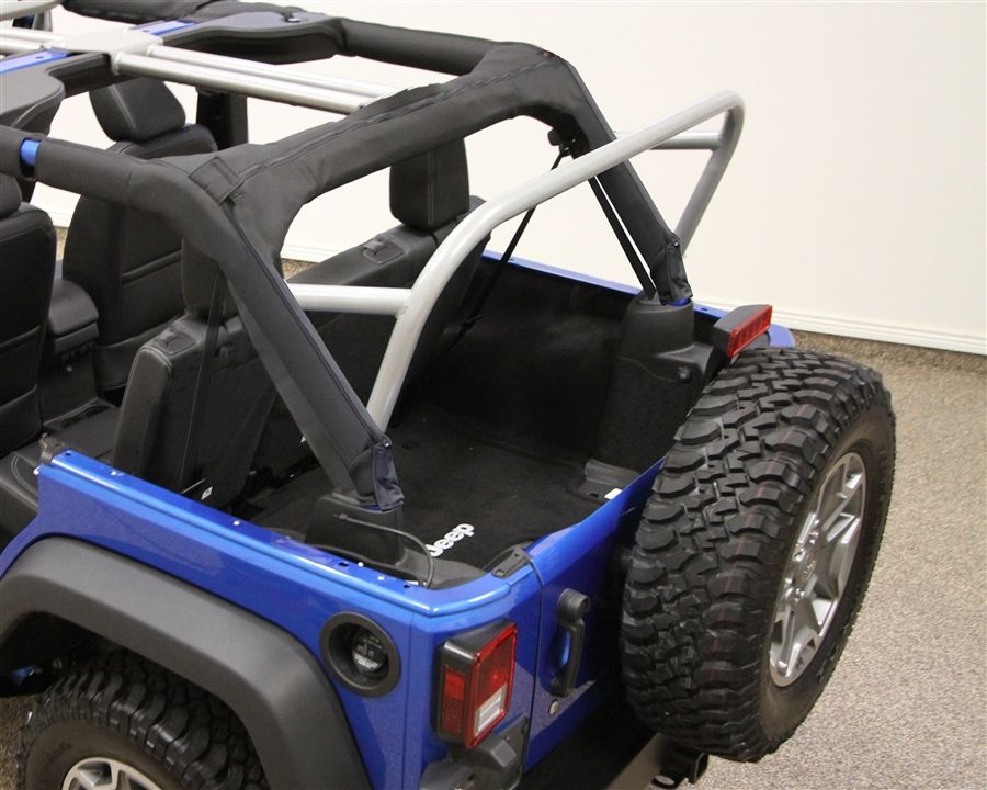 Rock Hard 4x4 3rd Row Accessory Mount Sport Cage For Jeep Wrangler Jk 4dr 2007 2016 Rh 1032