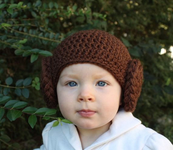 Princess Leia baby hat Made to order princess leia costume  sc 1 st  Pinterest : baby leia costume  - Germanpascual.Com