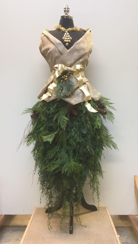 Photo of eBook Tutorial: Dress Form Christmas Tree – Bohemian Style