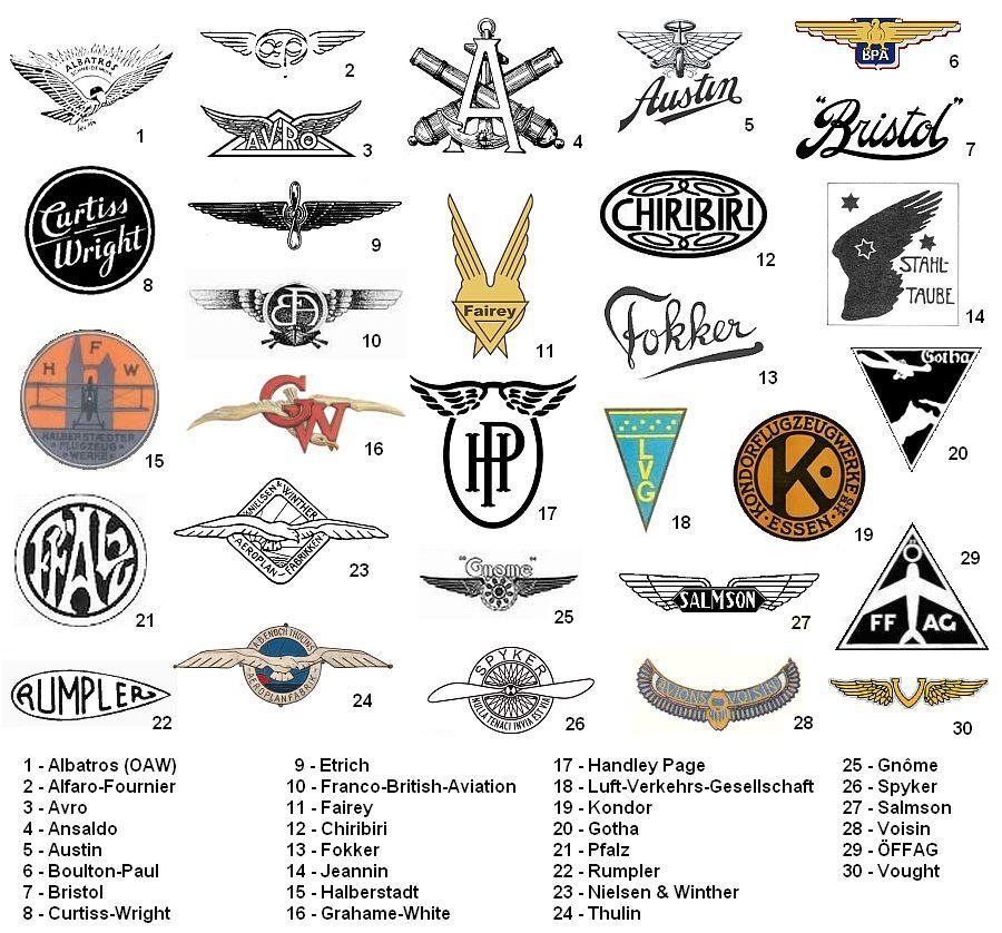 Aviation Logos Google Search Graphic Design