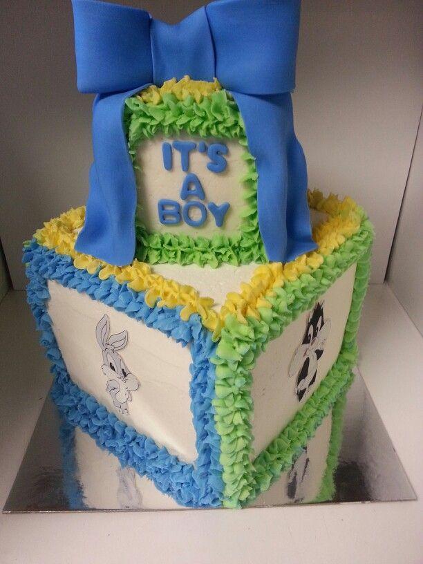 Babyshower · Looney Tunes Cake