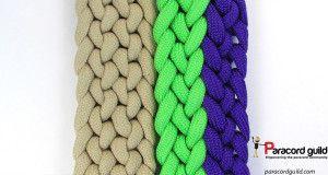 2 Color Conquistador Braid The Gemini Paracord Bracelet