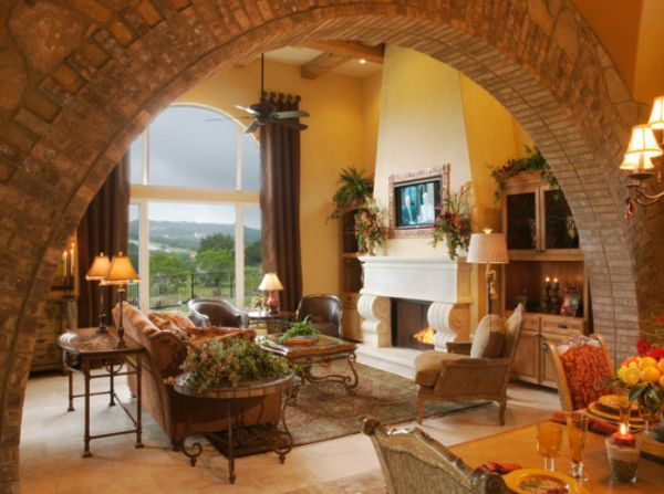 Beautiful Archway Designs For Elegant Interiors Mediterranean