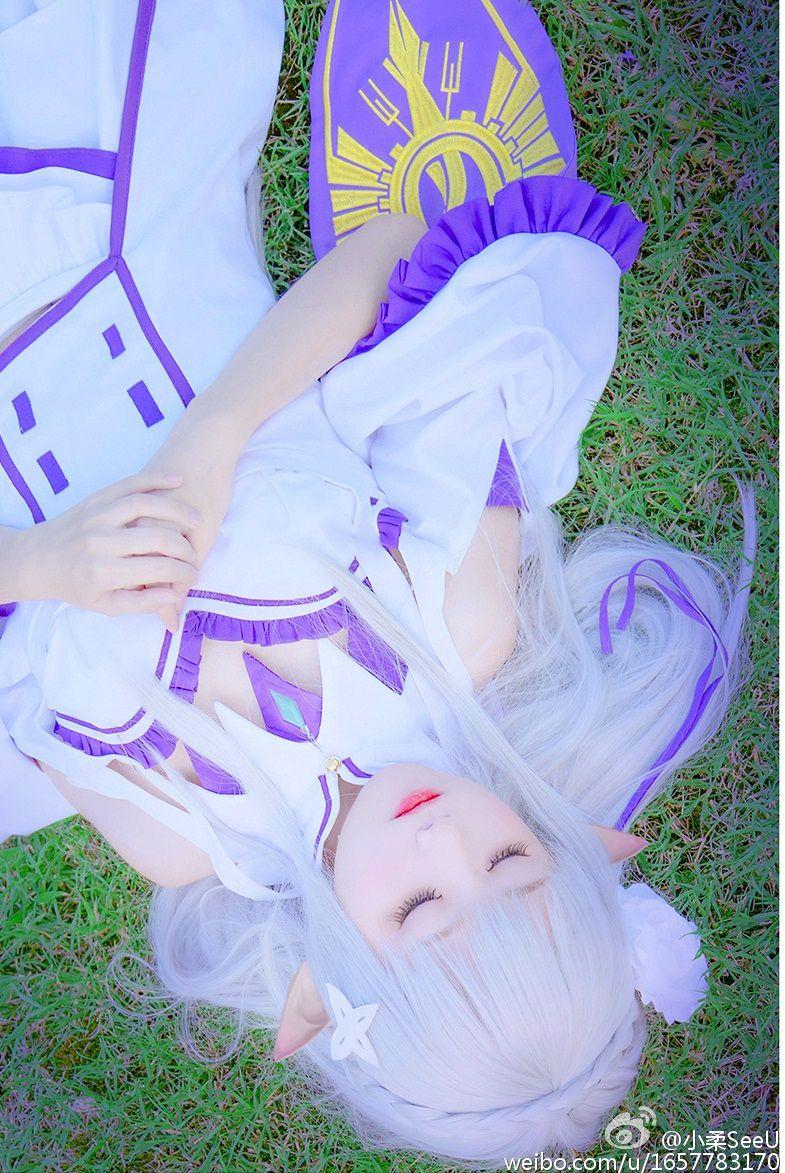 Emilia   Cosplay feminino, Cosplay anime, Re zero