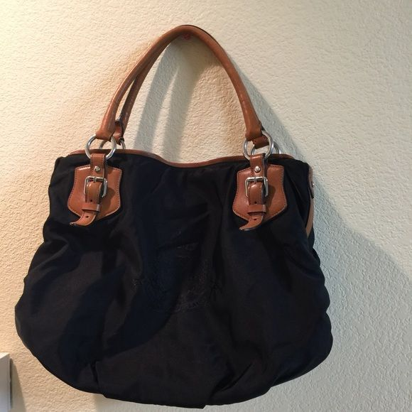 6bcf307b7b Polo by Ralph Lauren Good condition. Color  Black. Nylon bag and leather  handles