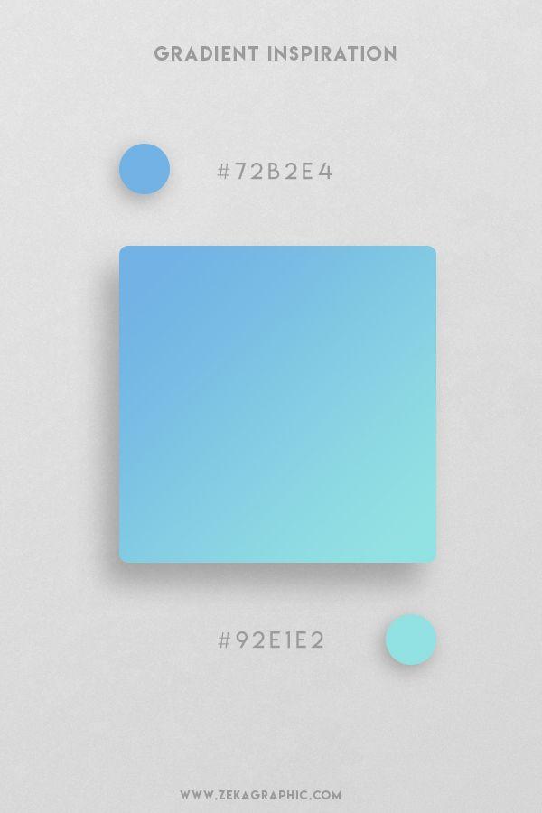 32 Beautiful Color Gradient Inspiration | ZEKA DESIGN