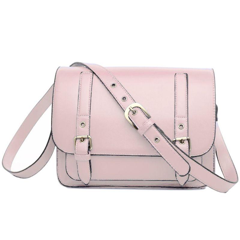 Neon Roze Schoudertas : Miss lulu imitatie lederen schoudertas roze handtassen