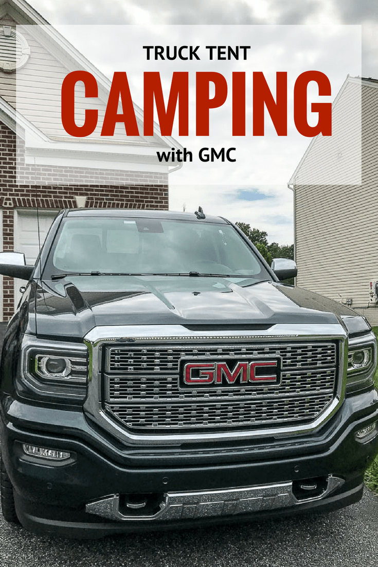 Prepping For My First Real Camping Trip With Gmc Gmc Sierra Denali Truck Tent Camping Truck Tent