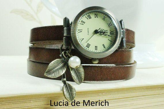 Wrap Watch Bracelet Watch Wrist Watch Vintage by luciademerich