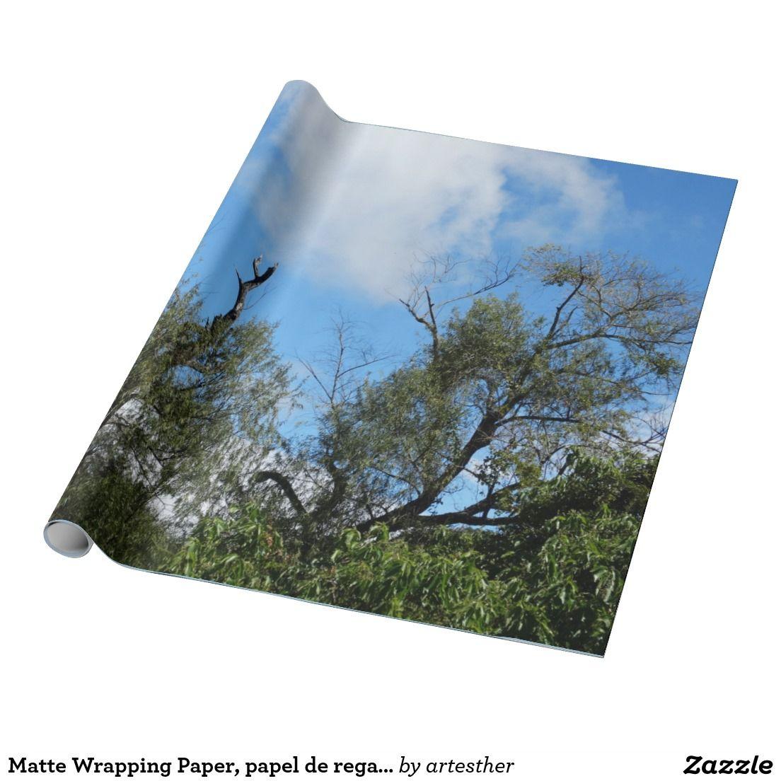 Matte Wrapping Paper, papel de regalo