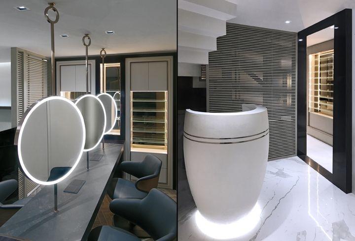 Mrs B Salon By Pallavi Dean Interiors Dubai Uae Retail Design Blog Showroom Design Salon Interior Commercial Interiors