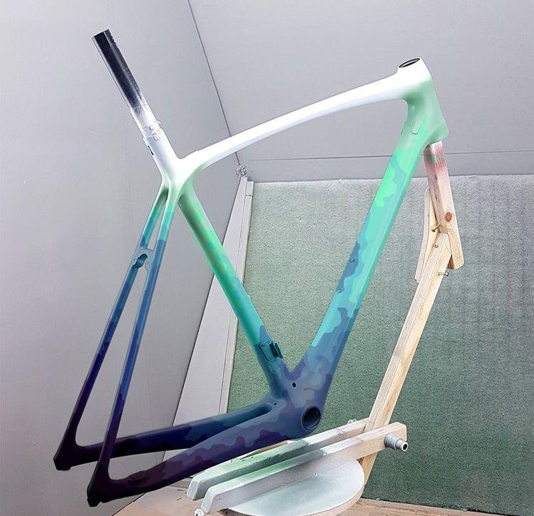 A Circles Desalvo Painted By Landshark Paint Bike Bicycle Paint