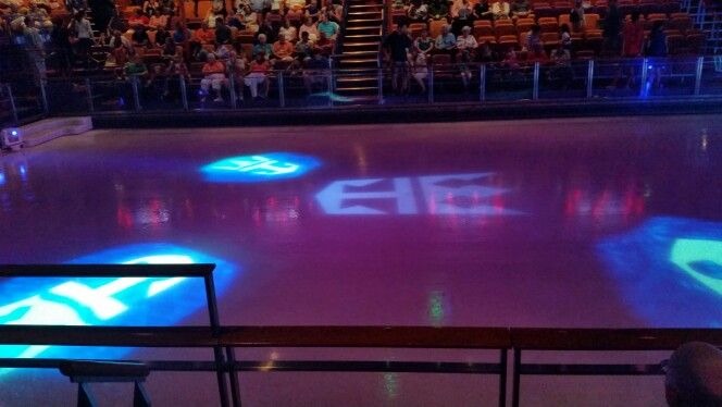 Where the awesome ice show was
