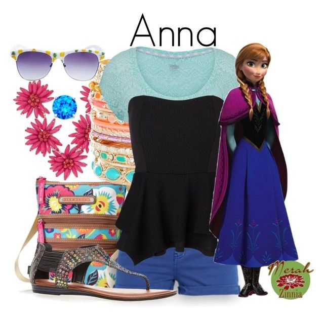 """Summer Wear: Anna"" by merahzinnia ❤ liked on Polyvore featuring Cara, Lily Bloom, Accessorize, maurices, Vero Moda, Avenue, B. Brilliant, Disney and Wet Seal"