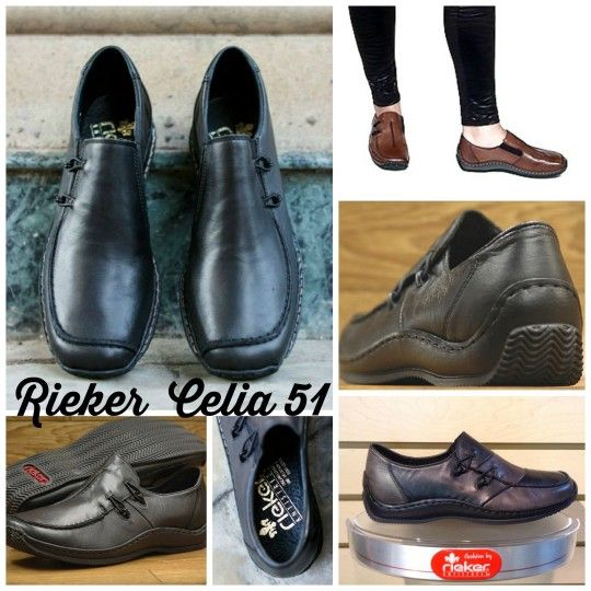 Rieker Celia 51: Perfect for Wider Forefoot, Narrow Heels