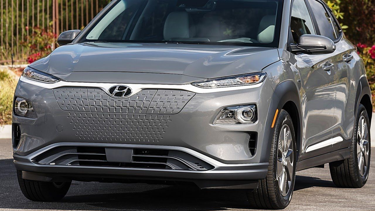2020 Hyundai KONA Electric cars suv technology travel