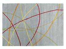 Ribbon Rug 170 x 240cm in cloud grey   made.com   In-house Design  