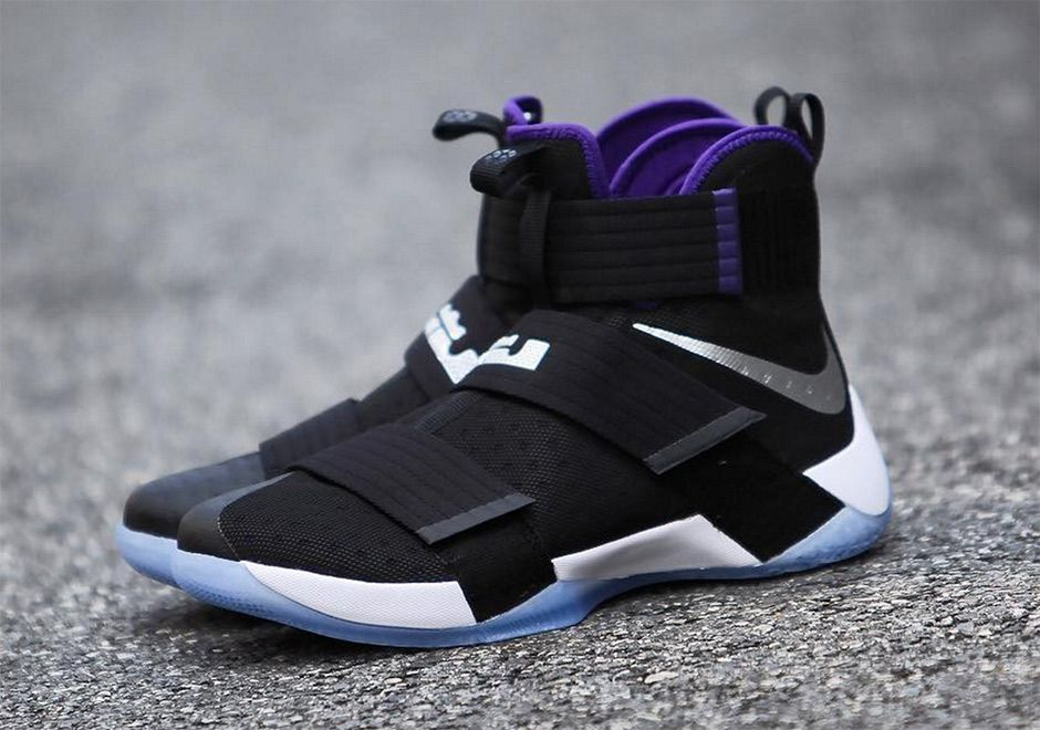 The Nike LeBron Zoom Soldier 10 in a