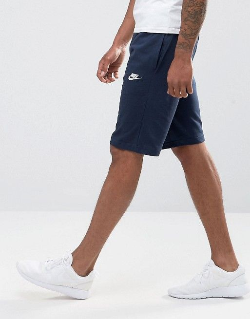 7d5be7ae Nike crusader jersey shorts in navy 804419-451 | Men's Navy Blue ...