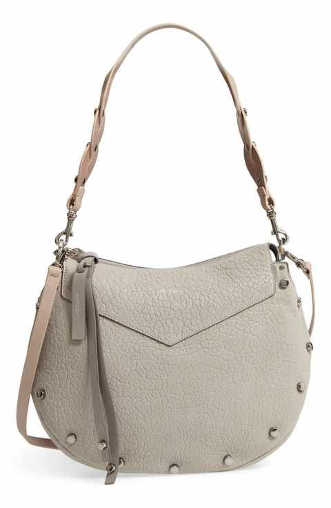 7d06cc4fe3 Jimmy Choo Artie Studded Leather Hobo Bag