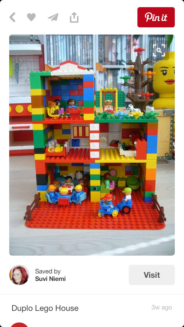 Casa De Muñecas Duplo Juegos Educativos Lego Lego Duplo Lego House