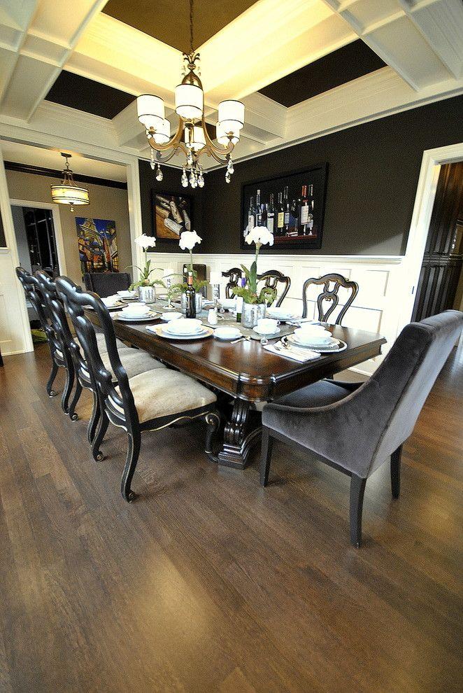 25 Beautiful Craftsman Dining Room Design Ideas Dengan Gambar