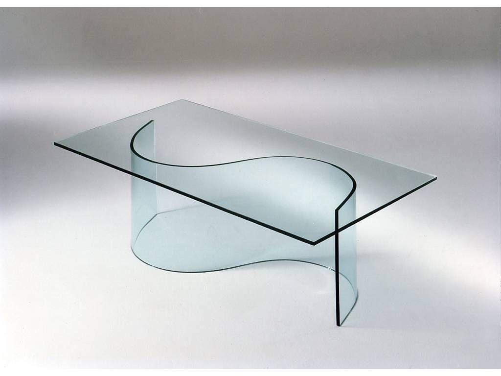 tavolo esse in cristallo  Tavoli  Pinterest  Soggiorno