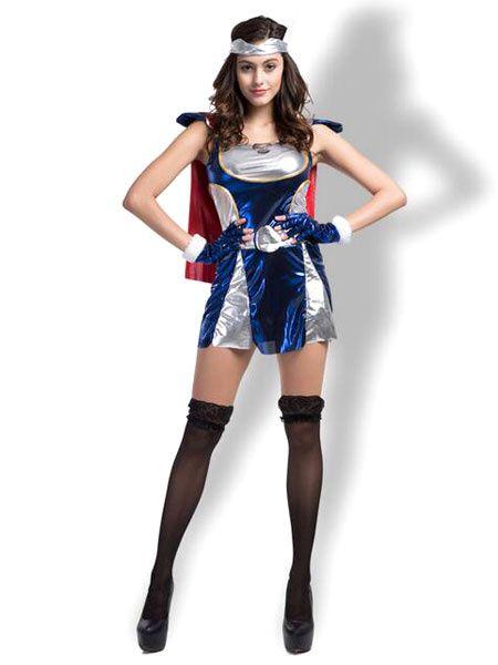 halloween costumes superwoman wonder woman dress cosplay with headband - Heroes Halloween Costumes