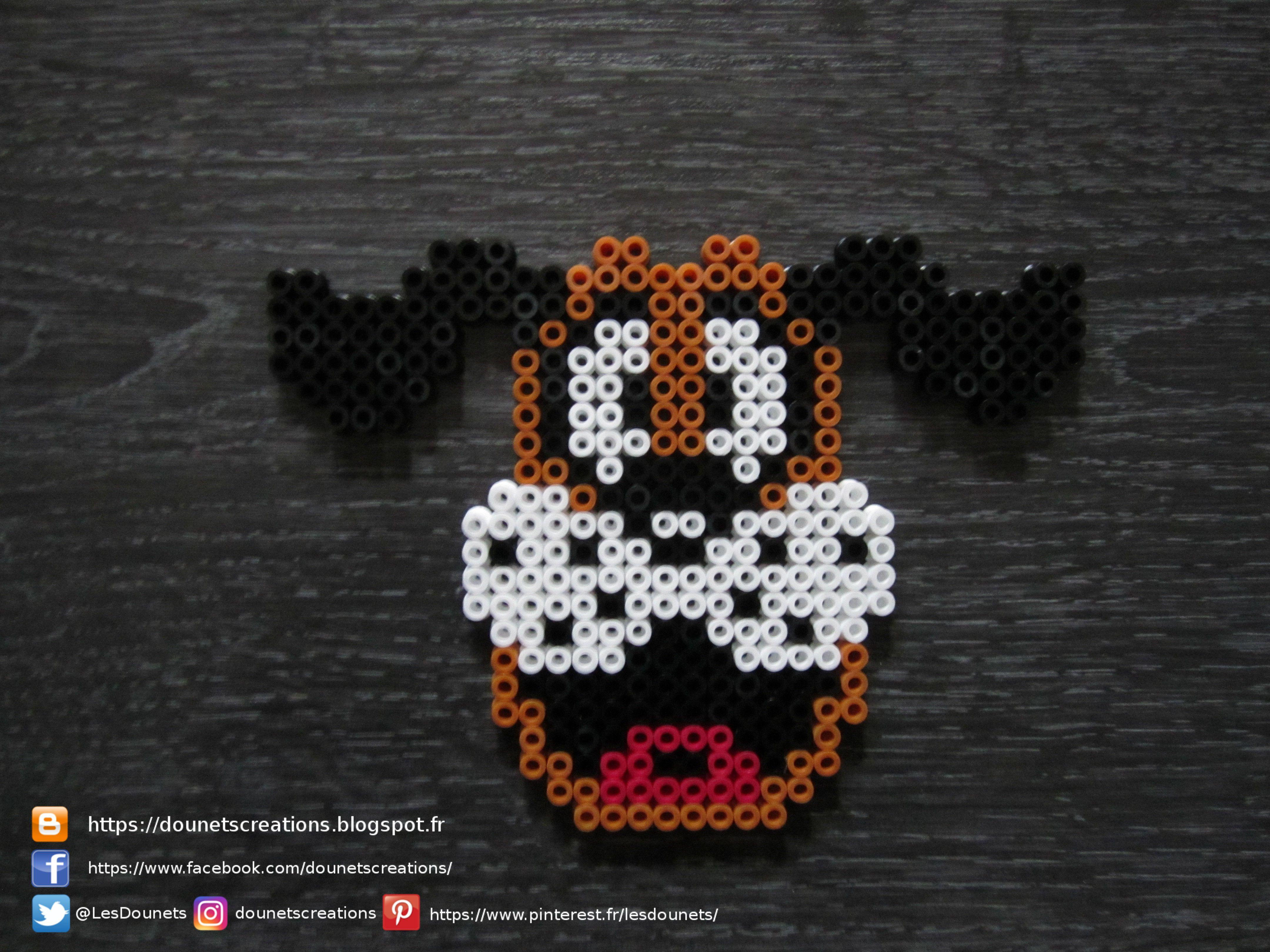 Duck Hunt Chien Perles Hama Duck Hunt Dog Perler Beads Artofit