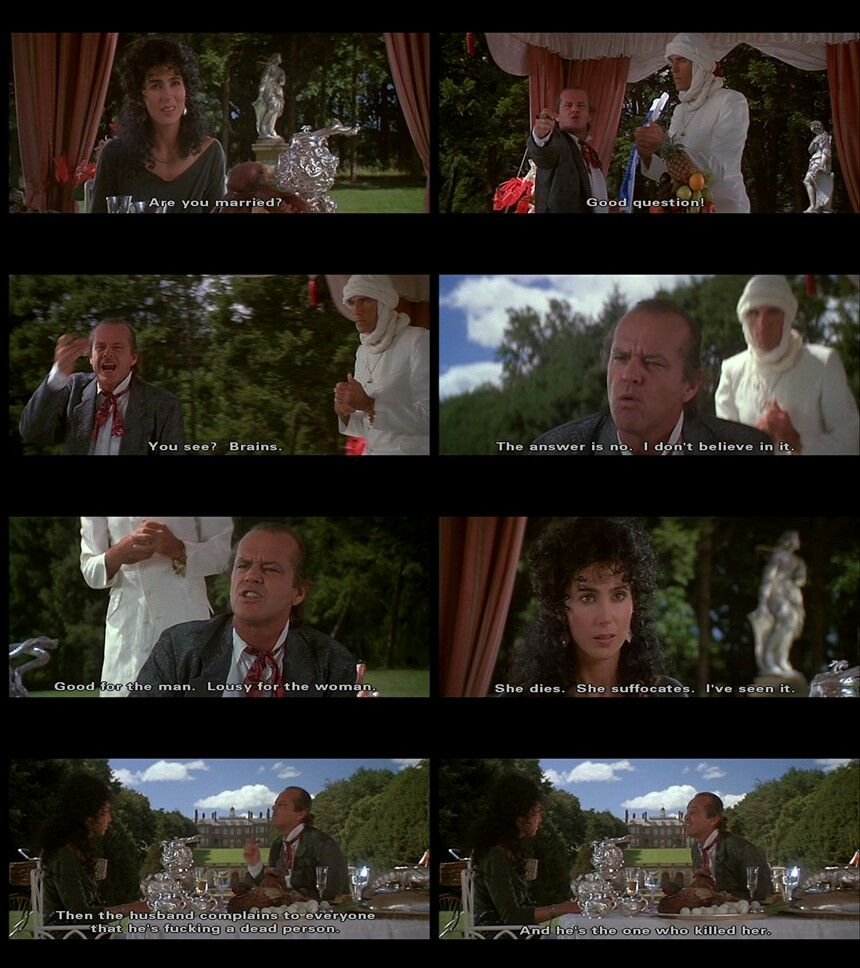 From The Witches Of Eastwick The Witches Of Eastwick Movies Fantasy Movies
