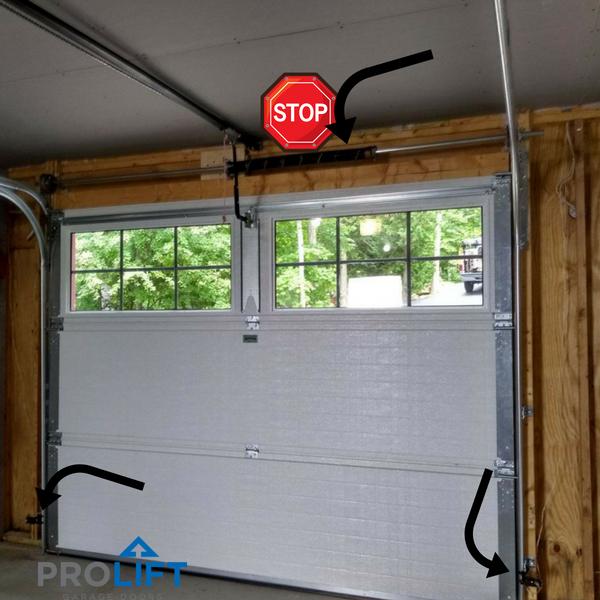 Pro Tip Troubleshooting Garage Door Problems Range From Minor And