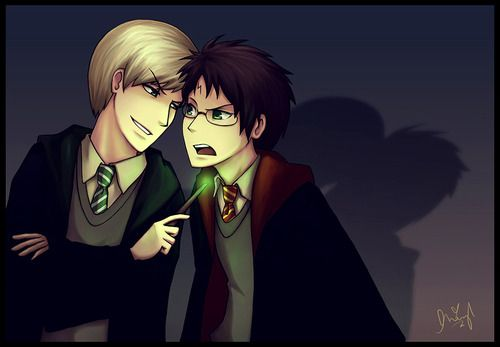 Draco Et Harry Drarry Harry Potter Fan Art Drarry Fanart